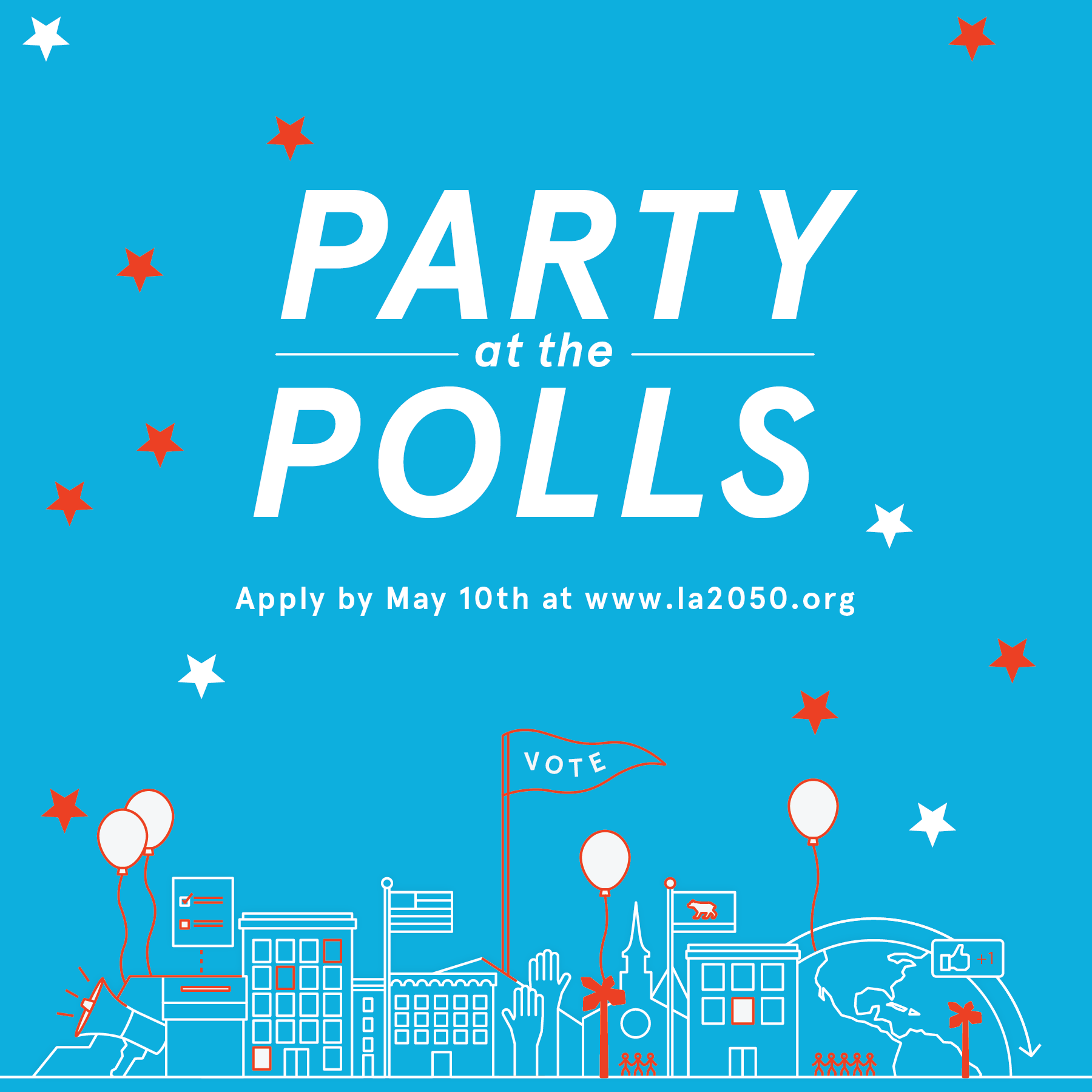 #PartyatthePolls